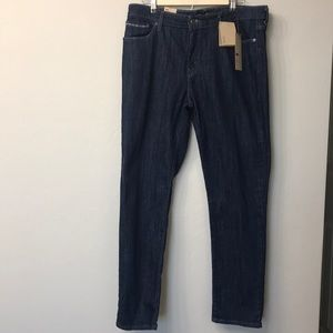 Levi's mid rise skinny dark wash jeans size 16/33.